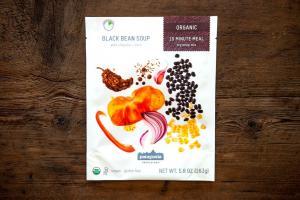 Black Bean Soup With Chipotle + Corn