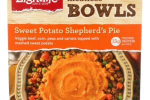 Sweet Potato Shepherd's Pie Bowl