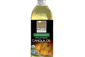 Expeller Pressed Organic Canola Oil