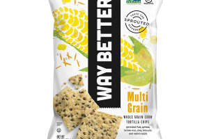 Multi-Grain - Whole Grain Corn Tortilla Chips
