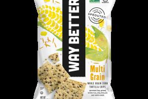 Multi-Grain - Whole Grain Corn Tortilla Chips