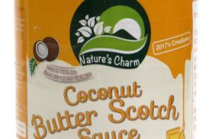Coconut Butter Scotch Sauce