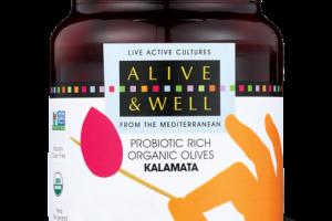 KALAMATA - Probiotic Rich Organic Olives