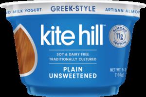 Artisan Almond Milk Yogurt - Greek Style - PLAIN UNSWEETENED
