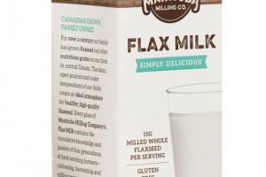 Simply Delicious Flax Milk