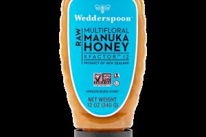 Raw Multifloral Manuka Honey KFactor 12