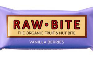 The Organic Fruit & Nut Bite - Vanilla Berries