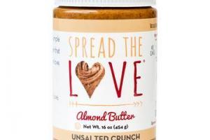 UNSALTED CRUNCH Almond Butter