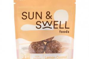 Fruit & Nut Bites - Lemon Coconut