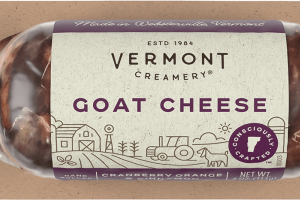 Cranberry, Orange & Cinnamon Goat Cheese