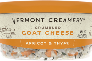 Apricot & Thyme Goat Cheese Crumbles