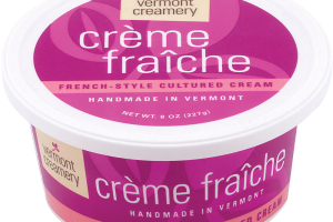 Crème Fraîche - French-style Cultured Cream