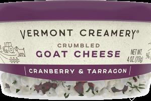 Cranberry & Tarragon Goat Cheese Crumbles