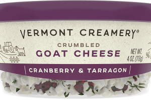 Cranberry & Tarragon Goat Cheese Crumbles