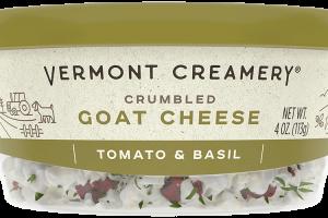 Tomato & Basil Goat Cheese Crumbles