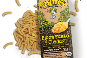 Limited Edition Organic Elbow Pasta & Cheddar