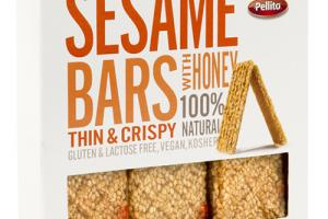 Sesame Bars With Honey