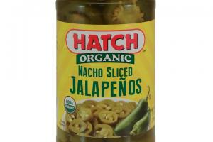 Organic Nacho Sliced Jalapenos