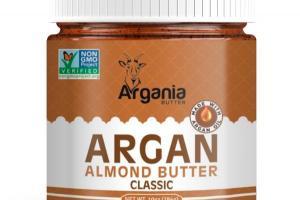 Classic Creamy Argan Almond Butter