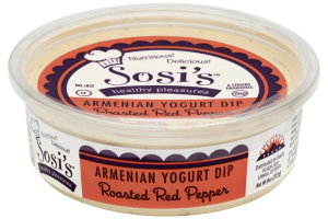 American Yogurt Dip Roasted Red Pepper