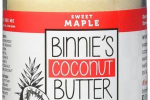 Coconut Butter - Sweet Maple