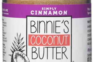 Coconut Butter - Simply Cinnamon