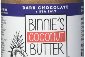 Coconut Butter - Dark Chocolate & Sea Salt