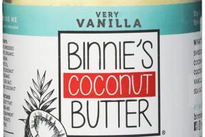 Coconut Butter - Very Vanilla