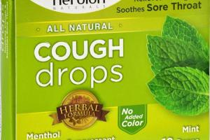 Cough Drops - All Natural - Mint