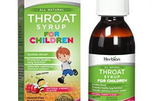Throat Syrup for Children
