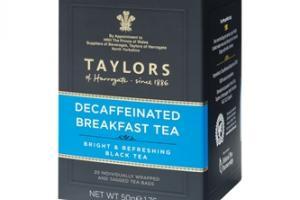 Decaffeinated Breakfast Tea