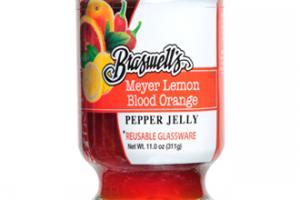 Meyer Lemon Blood Orange Pepper Jelly