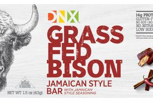 Grass Fed Bison Jamaican Style Bar