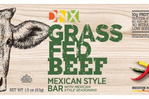 Grass Fed Beef Mexican Style Bar