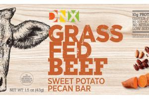 Grass Fed Beef Sweet Potato Pecan Bar
