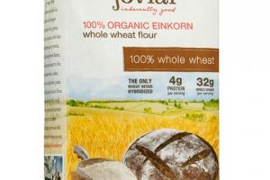 Organic Einkorn Whole Grain Flour