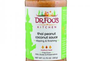 Thai Peanut Coconut Sauce