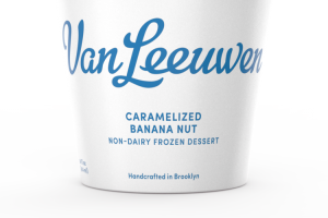 Non-dairy Frozen Dessert - Vegan - Caramelized Banana Nut