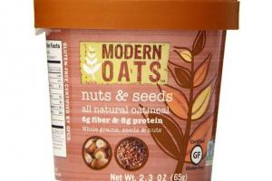 Nuts & Seeds All Natural Oatmeal