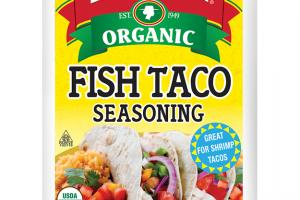 Organic Fish Taco Seasoning