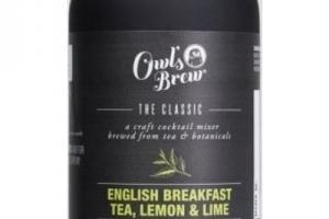 English Breakfast Tea, Lemon & Lime Cocktail Mixer