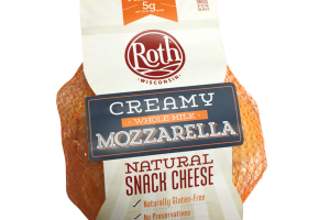 Creamy Whole Milk Mozzarella Snack Cheese