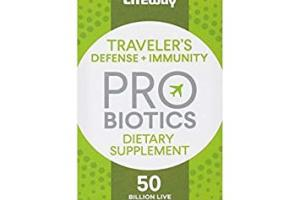 Traveler's Defense + Immunity Probiotics Dietary Supplement