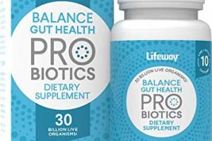 Balance Gut Health Dietary Supplement