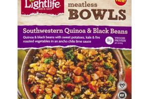 Meatless Bowls - Southwestern Quinoa & Black Beans Bowl