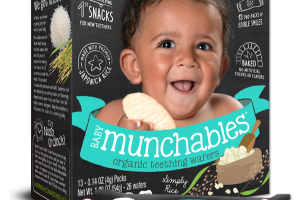 Baby Munchables Simply Rice