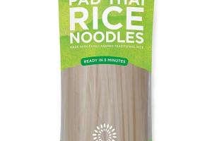 Traditional Pad Thai Rice Noodles