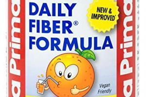 Daily Fiber Formula – Orange Flavor