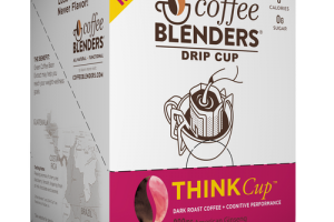THINK Cup - Dark Roast Coffee + COGNITIVE PERFORMANCE