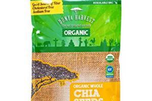 Organic Whole Chia Seeds